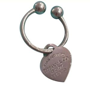 Tiffany & Co Vintage Vintage Heart Tag Key Ring